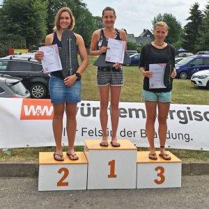 Frankenwaldlauf Oßla 2018 Sieger Frauen 18 km