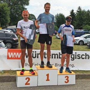 Frankenwaldlauf Oßla 2018 Sieger Männer 18 km