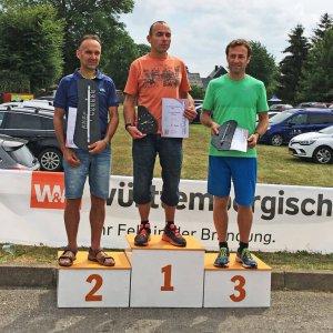 Frankenwaldlauf Oßla 2018 Sieger Männer 8 km