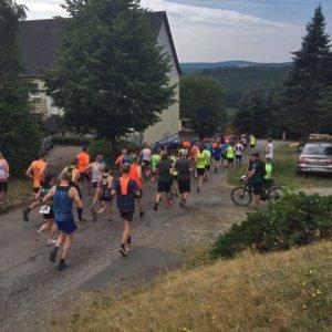 Frankenwaldlauf Oßla Eröffnung 2019