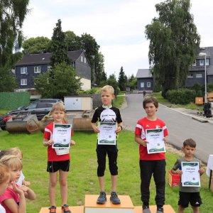 Frankenwaldlauf Ossla 2021 | Sieger Gimpel-Juniorlauf