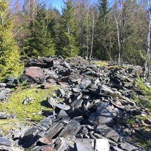 Frankenwaldlauf Oßla Laufen am Schieferbruch