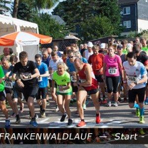 Frankenwaldlauf Oßla Start 2017